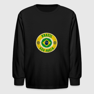 Brazil Brasilia Sao Paulo - Kids' Long Sleeve T-Shirt