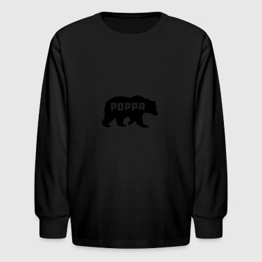 Poppa - Kids' Long Sleeve T-Shirt