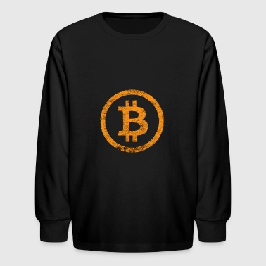 Bitcoin - Kids' Long Sleeve T-Shirt