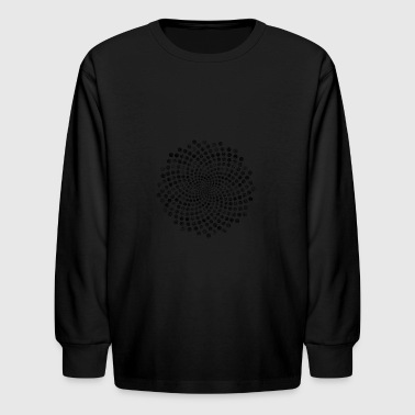 Balls 3D effect - Kids' Long Sleeve T-Shirt