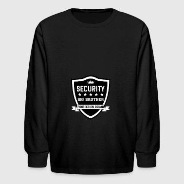 security big brother - Kids' Long Sleeve T-Shirt