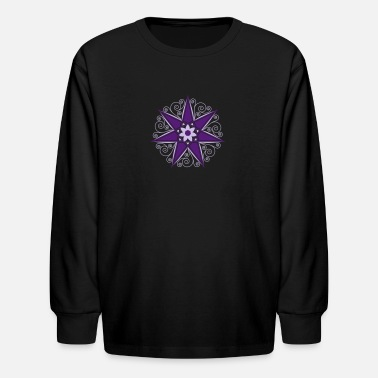 Girl Elven Elf Elven Star, Perfection & Protection, Fairy, Magic - Kids' Longsleeve Shirt