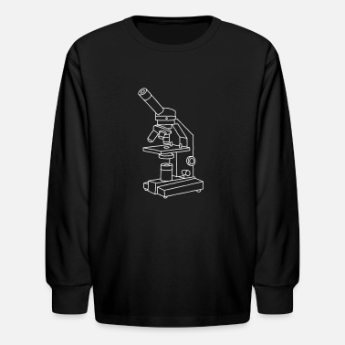 Joinery Microscope - Kids' Long Sleeve T-Shirt