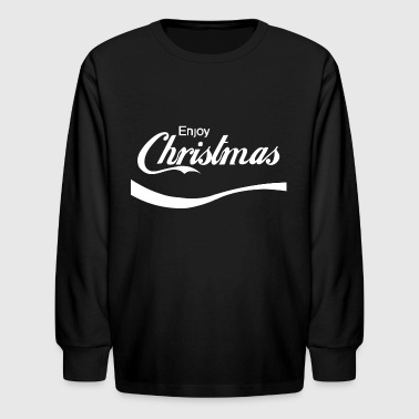 Enjoy Christmas - Kids' Long Sleeve T-Shirt