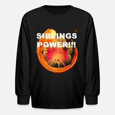 Siblings Sibling Power - Siblings Family explosion - Kids' Long Sleeve T-Shirt