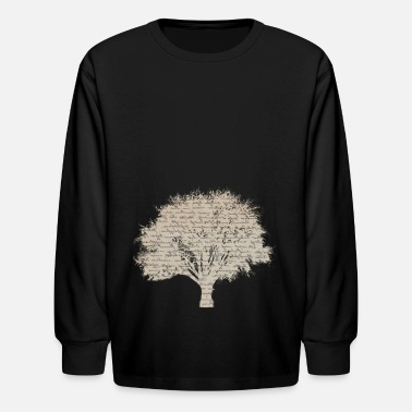 Trees Tree - Kids' Longsleeve Shirt