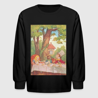 The Tea Party - Kids' Long Sleeve T-Shirt