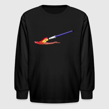 Paint  Brush - Kids' Long Sleeve T-Shirt