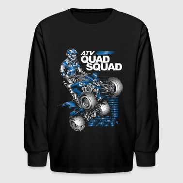 Yamaha Quad ATV Quad Squad Yamaha - Kids' Long Sleeve T-Shirt