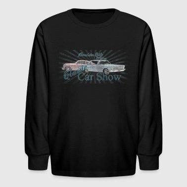 Buick classic car show - Kids' Long Sleeve T-Shirt