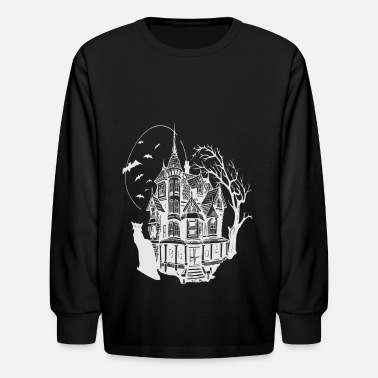 Haunted House HAUNTED HOUSE - Kids' Longsleeve Shirt