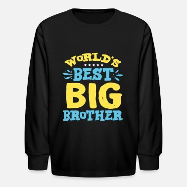 Best Big Brother - Kids' Longsleeve Shirt