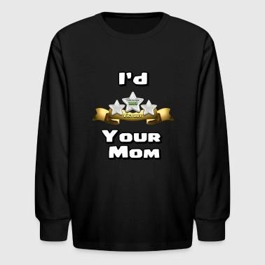 Clash Of Clans I'd Three Star Your Mom - Kids' Long Sleeve T-Shirt