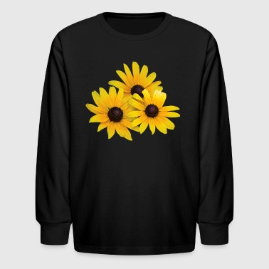 The Black Eyed Peas Trio of Black-Eyed Susans - Kids' Long Sleeve T-Shirt