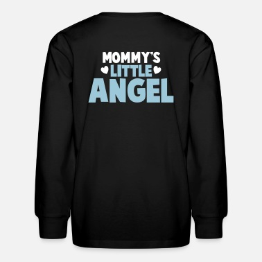 Mommys Little MOMMY's little ANGEL - Kids' Long Sleeve T-Shirt