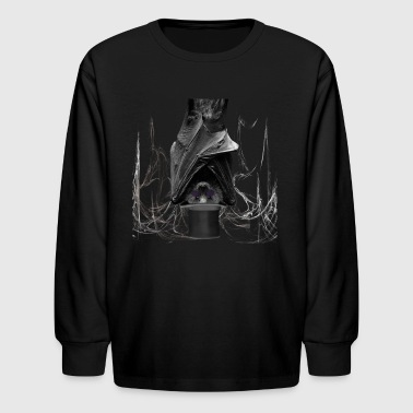 Saturn bat - Kids' Long Sleeve T-Shirt