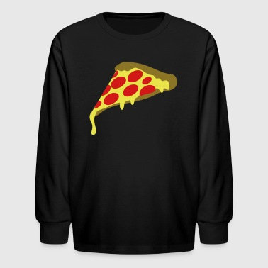 pepperoni pizza slice - Kids' Long Sleeve T-Shirt