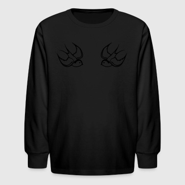 swallows - Kids' Long Sleeve T-Shirt