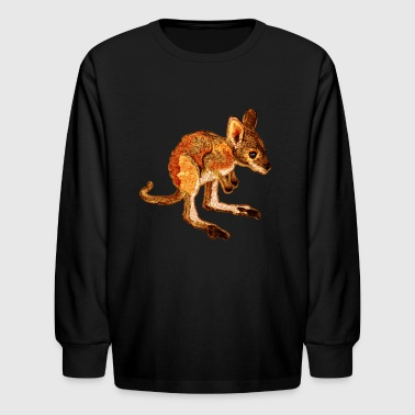 Kangaroo Joey - Kids' Long Sleeve T-Shirt