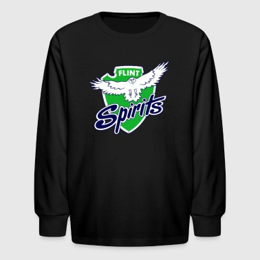 Flint Spirits - Kids' Long Sleeve T-Shirt