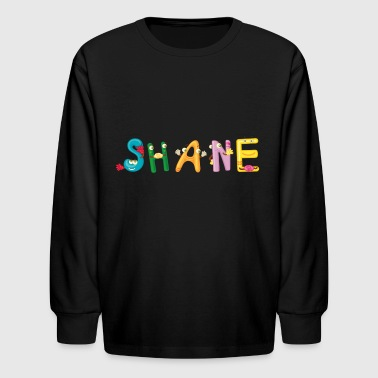 Shane - Kids' Long Sleeve T-Shirt