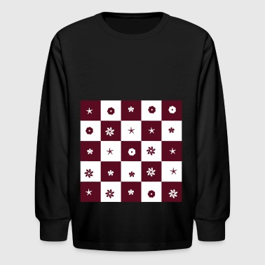 pattern - Kids' Long Sleeve T-Shirt