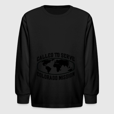 Colorado Mission - LDS Mission CTSW - Kids' Long Sleeve T-Shirt