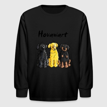 Hovawart – Hovi – Dog – Shirt Design - Kids' Long Sleeve T-Shirt