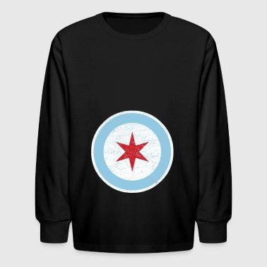 chicago police - Kids' Long Sleeve T-Shirt