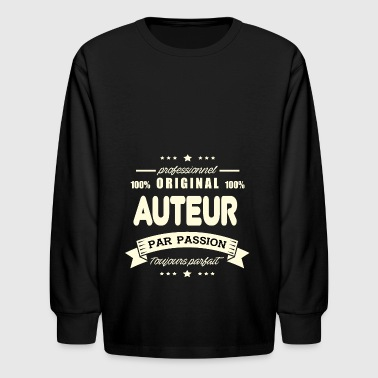 the Original Author - Kids' Long Sleeve T-Shirt