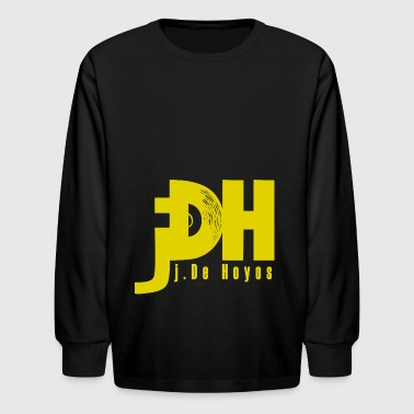 jDH Yellow Logo - Kids' Long Sleeve T-Shirt