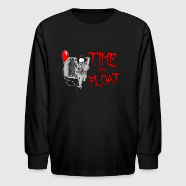 Time To Float - Kids' Long Sleeve T-Shirt