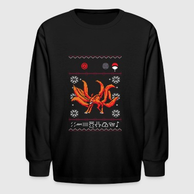 Naruto Kyuubi Ugly Sweater Unisex Sweatshirt - Kids' Long Sleeve T-Shirt