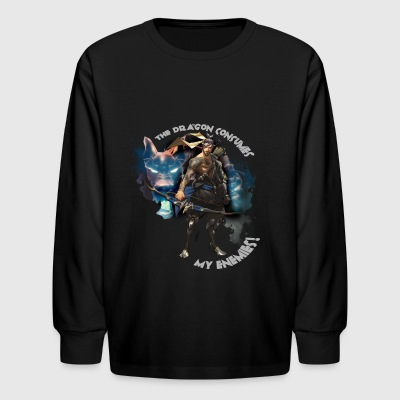 Overwatch: Hanzo - Kids' Long Sleeve T-Shirt