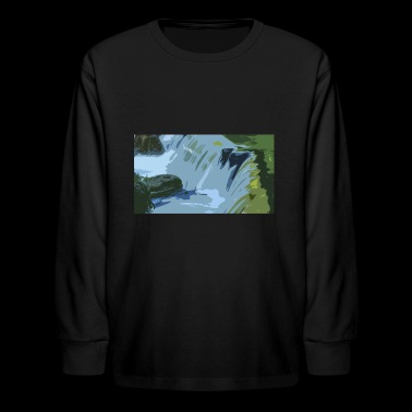 The falls - Kids' Long Sleeve T-Shirt