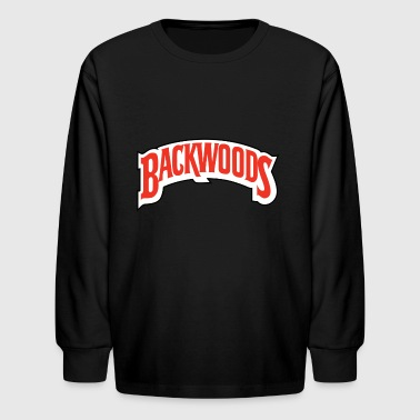 backwoods blunt t shirt - Kids' Long Sleeve T-Shirt