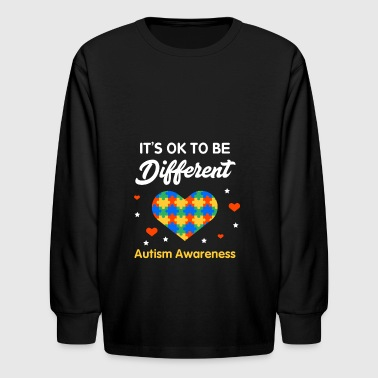Autism Awareness Costume. Meaning Shirt - Kids' Long Sleeve T-Shirt