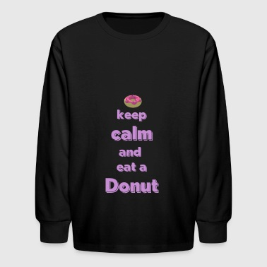 Donut Apparel And Accesories Design - Kids' Long Sleeve T-Shirt