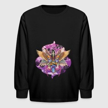 Harpy goddess - Kids' Long Sleeve T-Shirt