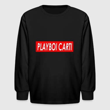Playboi Carti - Kids' Long Sleeve T-Shirt