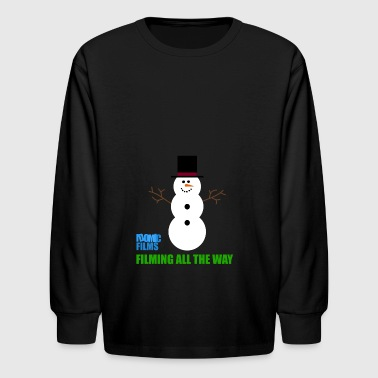 IDOMIC FILMS FILMING ALL THE WAY - Kids' Long Sleeve T-Shirt