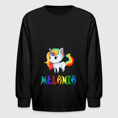 Melania Unicorn - Kids' Long Sleeve T-Shirt