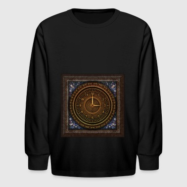 time travel - Kids' Long Sleeve T-Shirt