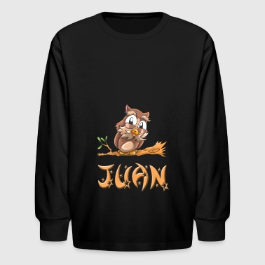 Juan Owl - Kids' Long Sleeve T-Shirt