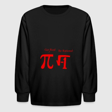 Pi and rumus - Kids' Long Sleeve T-Shirt
