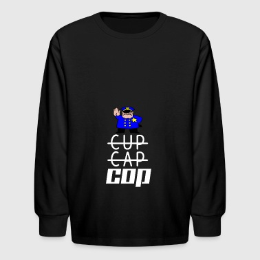 cop - Kids' Long Sleeve T-Shirt