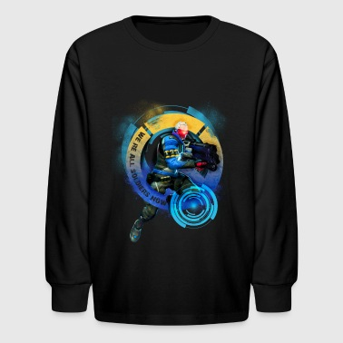 Overwatch: Soldier 76 - Kids' Long Sleeve T-Shirt