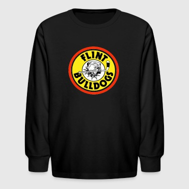 Flint Bulldogs - Kids' Long Sleeve T-Shirt