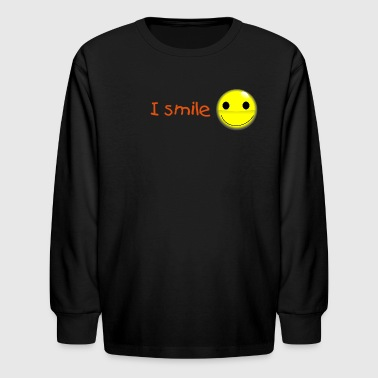 Learn English shirts - Kids' Long Sleeve T-Shirt