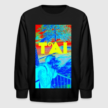 TRIPPING ON THOUGHTS - Kids' Long Sleeve T-Shirt